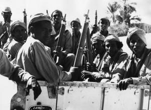 اعضای مسلح جبهه ازادیبخش ملی یمن در سال ۱۹۶۷