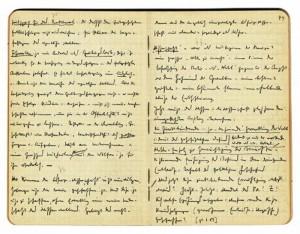 صفحاتی از یادداشتهای هایدگر