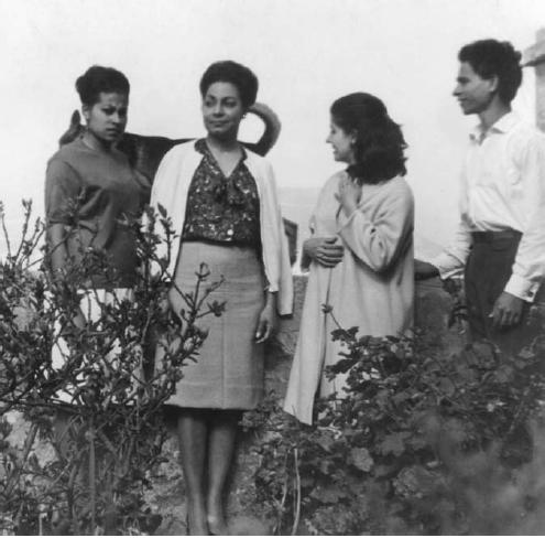 اولین گروه پزشکان کوبایی در الجزایر در سال ۱۹۶۳